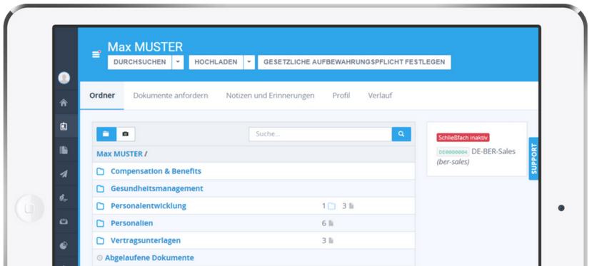 PeopleDoc Employee File Management